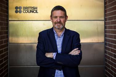 Mark Howard. Director del British Council en España.