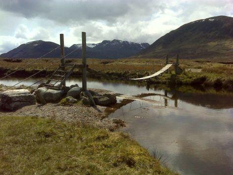 Ben Alder from Loch Pattack