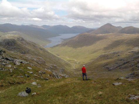 Loch Quoich from Sgurr na Ciche