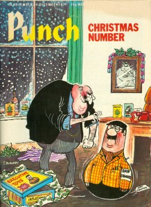 Punch front cover, Christmas 1977