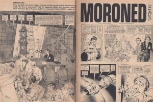 Mad magazine Moroned spoof