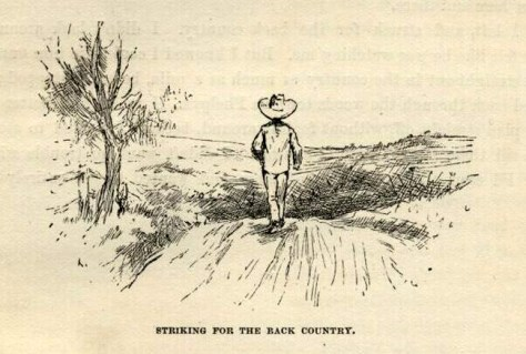 Striking For The Back Country (Kemble, 1885)