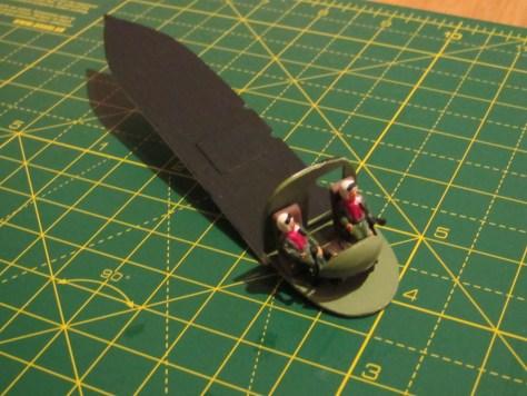 Sea King cockpit assembly