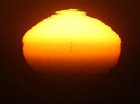 Sunspot mirage