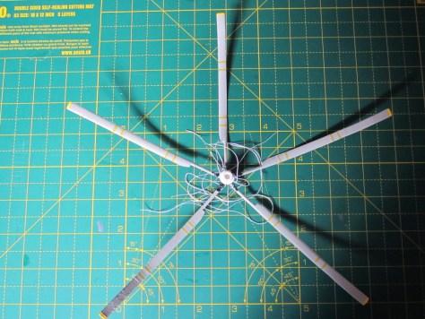Sea King rotor under construction
