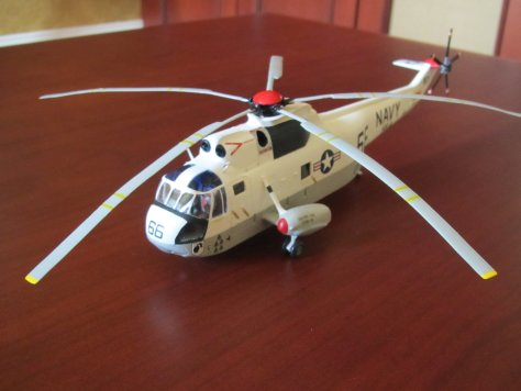 Airfix 1/72 Sikorsky SH-3D Sea King, Apollo 13 recovery