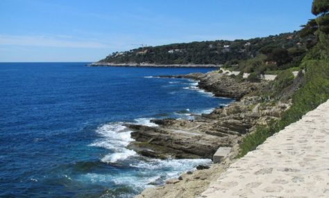 The coastal path, Cap Ferrat