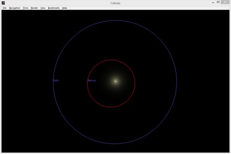 Mercury & Earth Orbits 1