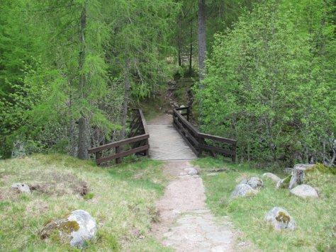 Roy Tait Memorial Bridge, Bachnagairn Click to enlarge