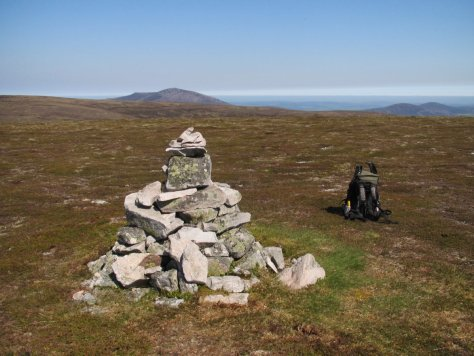 Summit of Cook's Cairn