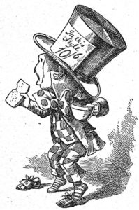 Tenniel's mad hatter