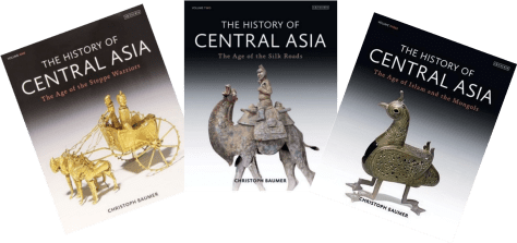 Covers of The History of Central Asia