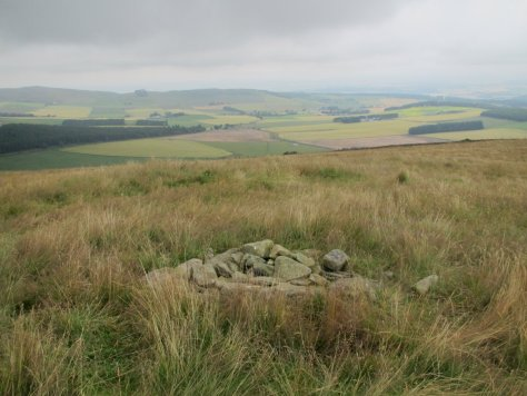 Summit of Finlarg Hill