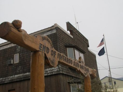 End of Iditarod, Nome