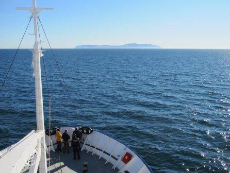Approaching Big Diomede