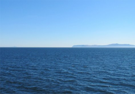 Little Diomede and Big Diomede