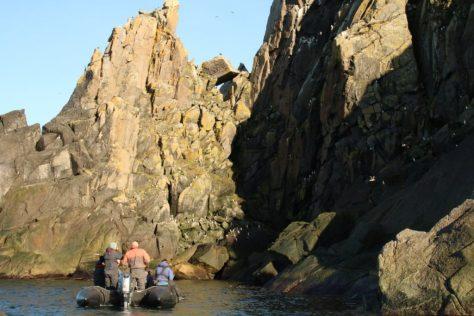 Bird cliffs, Big Diomede