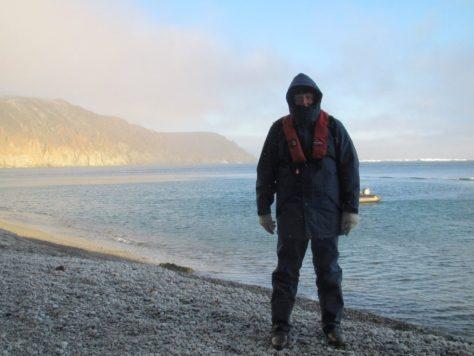 Ashore on Herald Island