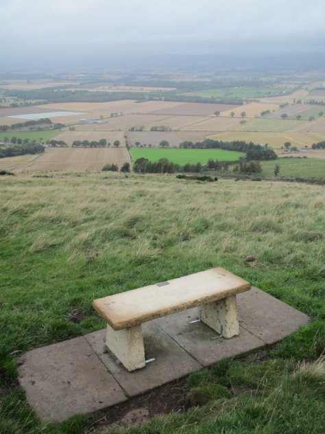 Bench on Kinpurney Hill