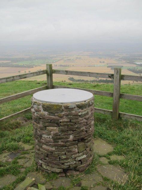Kinpurney Hill view indicator