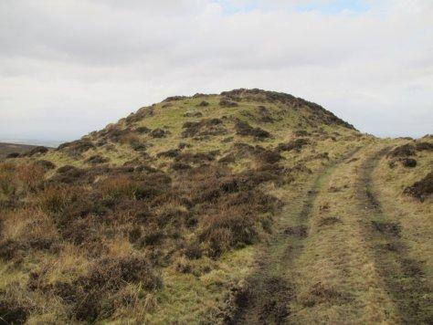 Remains of the broch below Little Dunsinane