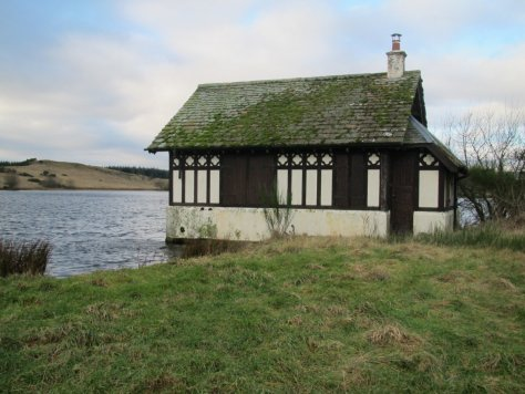 Boathouse, Redmyre Loch