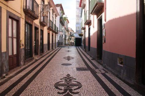 Funchal downtown mosaic