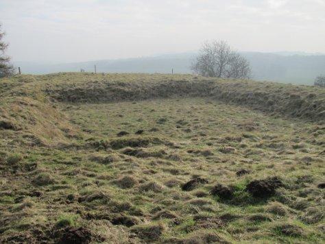 Site of Old Mill Dam, Smithton Knowe