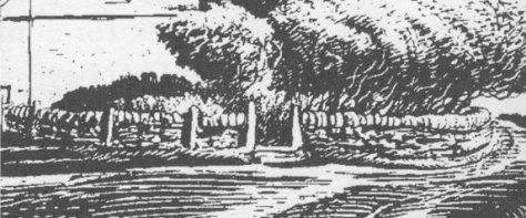 Colin Gibson's view of Smithton (detail)
