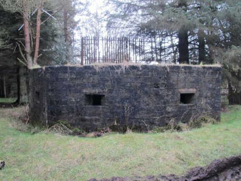 Type 27 antiaircraft pillbox, Douglas Wood Chain Home Radar station