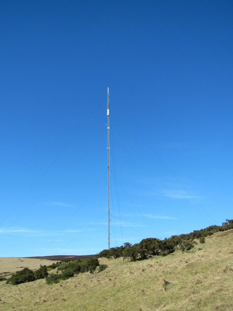 Gallow Hill telecom mast