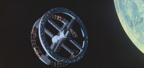 Space Station V from 2001 A Space Odyssey