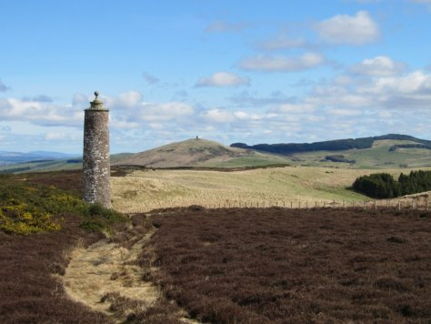Mackenzie Meridian tower on Keillor Hill