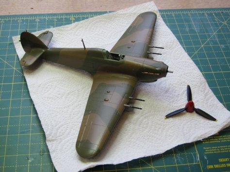 Hawker Hurricane IIC gloss coat 1