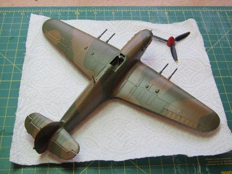 Hawker Hurricane IIC gloss coat 2