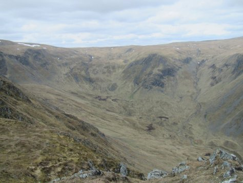 Caenlochan Glen from Monega Hill
