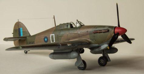 Hawker Hurricane IIC final view 3