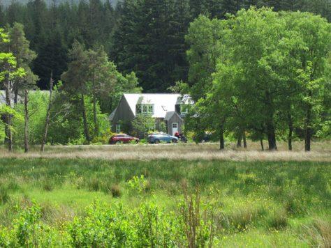 Corrie Odhar cottage, Loch Ossian