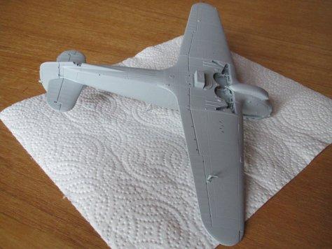 Hasegawa 1/48 Hawker Hurricane IIB primed 2