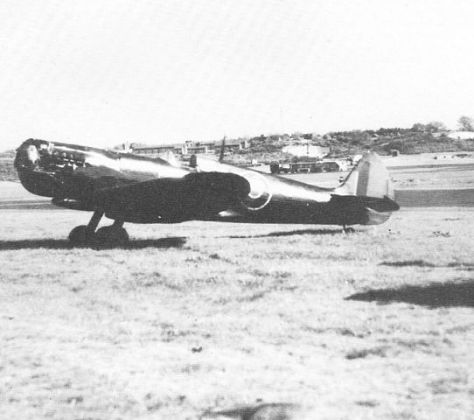 Spitfire XI EN 409 which was used in high speed diving trials in 1944