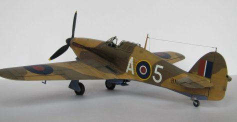 Hasegawa 1/48 Hawker Hurricane IIB (3)