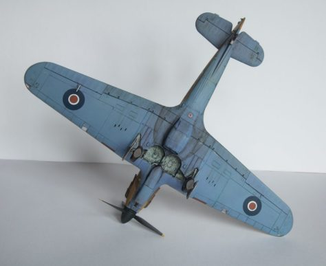 Hasegawa 1/48 Hawker Hurricane IIB (6)