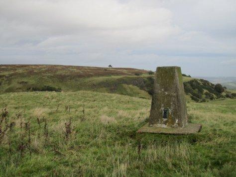 Pittmiddle Hill from Kinnaird Hill