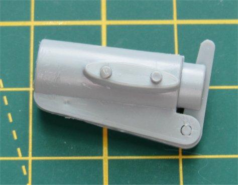 """1/24 Airfix """"Little Nellie"""" kit weapons pod"""