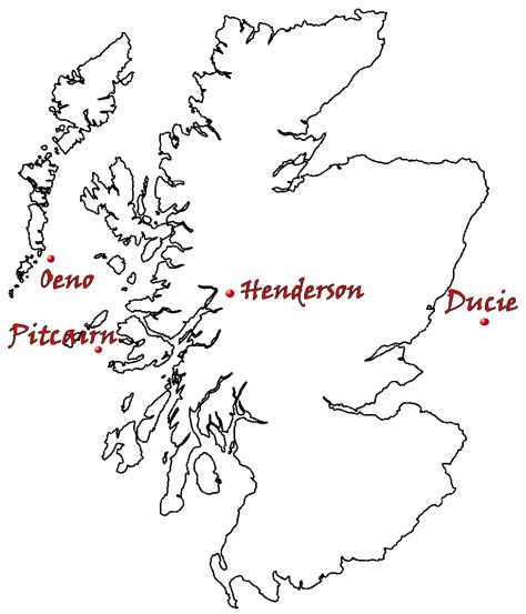 Pitcairn islands compared to Scotland