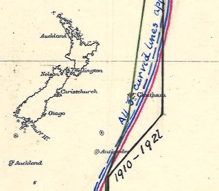 "Dateline detail (Chatham) from ""Notes on the History of the Date or Calendar Line"" (1921)"