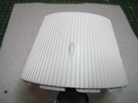 Revell 1/96 Saturn V - cover added to retrorocket fairing on S-IVB aft interstage