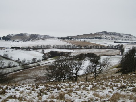 Black Hill and King's Seat from Kirkton Hill