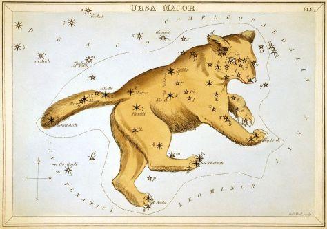 Sidney Hall's Ursa Major from Urania's Mirror