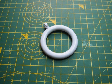 Two-inch curtain ring